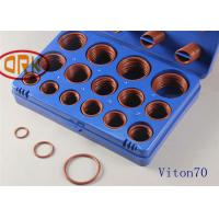 Quality Customized Viton O Ring Kits Low Temperature Resistant ±15 Volume Change for sale