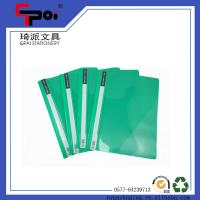 Quality PP Stationery Supplier A4 Report Cover Loose Paper Customized Transparent File Folder for sale