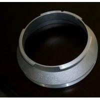 Quality Printing Aluminum Textile Machinery Parts Rotary Screen End Ring For Printing Machine for sale