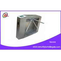 Quality Stainless access tripod turnstile gate with ticketing system , two - dimensional code for sale
