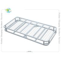 Quality Classic Folding Heavy Duty Metal Bed Frame with Mattress Foundation for sale