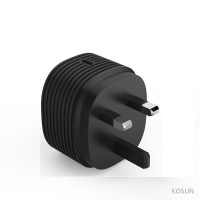 Quality ABS 9V2A PD18W UK Mains Charger Single Type C 619044 for sale
