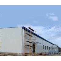 China Prefab Large Long span steel roof structure warehouse building construction with Q345B steel on sale