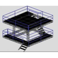 Quality Speaker Professional Aluminium Stage Truss / Portable Stage Platforms for sale