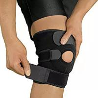 China Open Patella Compression Knee Brace Supports For Injury Recovery Adjustable Strapping Breathable on sale
