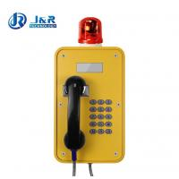 Quality Vandal Resistant Industrial Voip Phone Corrosion Resistant Cast Multi Color for sale