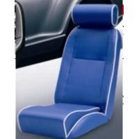 Quality Universal Blue PVC Sport Racing Seats With Deep Thing Bolsters / Bucket Car Seat for sale