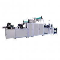 Quality Factory Price Non Woven Fabric Hospital Surgical Gown Making Production Line for sale