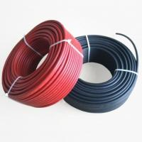 Quality Red Black TUV Approval 10awg 6mm solar dc wire for sale