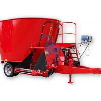 Quality Large Livestock Feed Mixers , Upright Feed Grinders And Mixers With Loading Shovel for sale