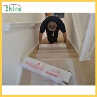Quality SH - CT49085 Stair Carpet Protection Film Temporary Stair Protective Films for sale