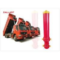 Quality ISO9001 Certification Dump Trailer Hydraulic Cylinder Welded Plunger Long Stroke for sale