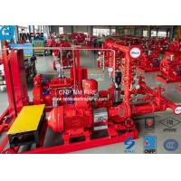 Quality UL / NFPA20 500GPM Skid Mounted Fire Pump With Centrifugal End Suction Fire Pump Sets for sale