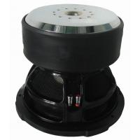 Quality Aluminum frame foam surround car audio Subwoofer with Monster motor , high spl subwoofer for sale