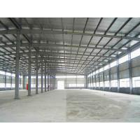 Quality Prefabricated Steel Structure Warehouse / Steel Prefab Buildings Contractors for sale