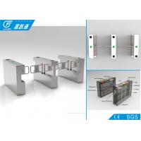 Quality 304 Stainless Steel Swing Gate Turnstile 25 Persons / Min With RFID Card System for sale