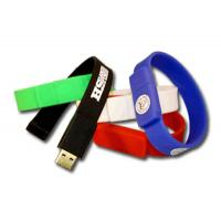 Quality Silicone Men Wristband USB Flash Drive 128GB Flash Drive USB 3.0 for sale