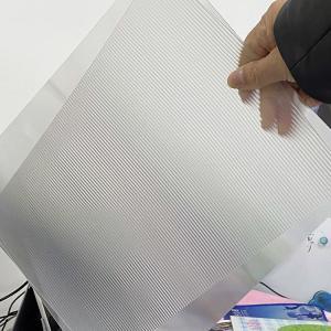 Quality PET 200LPI/ 75/100/161 Lpi 3D lenticular lens sheet 3D Film Lenticular Lens Sheet for injekt print and uv print for sale