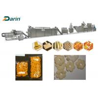 Quality 120-500kg / H Corn Puff Extruder Machine For High Speed Puff Snack Extruding for sale