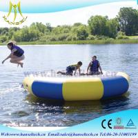Quality Hansel popular inflatable bounce house waterslide rental business for sale