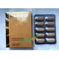 Quality Maxidus Herbale Sexual Pills Male Libido Sex Enhancer For Male Penis Enlarge for sale