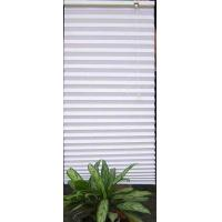 Buy cheap Fabric Pleated Shades Blinds Blackout for Windows Manual Control from wholesalers