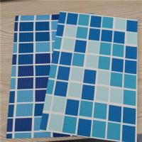 China PVC Swimming Pool Liner, Thickness 1.5mm, Blue, Mosaic, Reinforced with Fabric, Heating Weldable, manufacturer, factory on sale