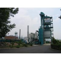 Buy Accurate Dosing Asphalt Batching Plant 120T Finished Product Bin Placed Under at wholesale prices