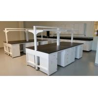Quality C - Frame Chemical Resistant Modular Laboratory Furniture With Hanging Cabinets & Shelf for sale