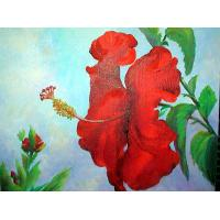 Quality flower painting room wall art decor for sale