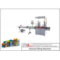 Quality 2000CPH Capacity Aerosol Filling Machine High Efficiency With Automatic Valve Placer for sale