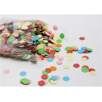 Quality Small Round Gummed Paper Spots Bio - Degradable For Handwork Party Decoration for sale