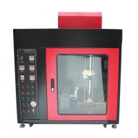 Quality Flammability Testing Equipment Touch Screen Horizontal-Vertical And Needle Flame Burning Machine for sale