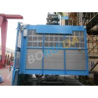 Quality 2000kg Rack And Pinion Hoists with Lifting Height 250m, 12 - 38 Passenger for sale