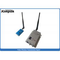 Buy Drone Wireless Video Link 1200Mhz Audio Video Transmitter and Receiver for Government Security at wholesale prices