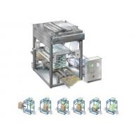 Quality Fully Automatic Stretch Hood Wrapping Machines Top Down Cold Stretching for sale