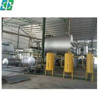 Hotsale dda vacuum distillation black waste used mobil car for Used motor oil recycling equipment