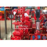 Quality Residential / Industrial End Suction Fire Pump Single Impeller UL / FM Listed for sale