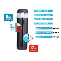 Quality 15oz Travel Coffee Flask for sale