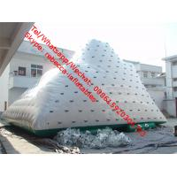 Quality Inflatable water iceberg floating water climbing inflatable iceberg water toy for sale
