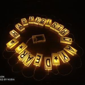Quality Letter box led string lights party decor lights for sale