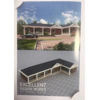 Quality C Frame Structure Light Prefab Steel House One Storey White Color Ready Made for sale