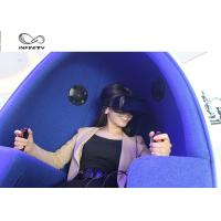 Quality 2 Player 9D Egg VR Cinema Simulador With Deepon E3 Glasses For Shopping Mall for sale