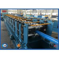 Quality Round Downpipe / Downspout Roll Forming Machine 0.4 - 0.6 mm Sheet Thickness for sale