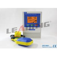 LCD Screen Well Pump Motor Control Box With IP 22 Protection Grade , Plastic Enclosure for sale