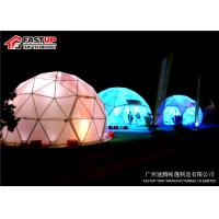 Buy Transparent 6 Meters Geodetic Dome Tents for Outdoor Activities at wholesale prices
