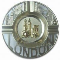 Quality Promotional London Ashtray, Made of Alloy, Available in Various Sizes for sale