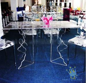 Quality acrylic cheap bar table sets for sale