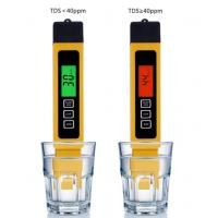 China Filter Water Reverse Qsmosis Quality Purity 0-9990 ppm,3 in 1, LCD digital tds 3 meter, Tds, Ec and Temp Meter on sale