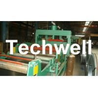 Quality 4 - 8m/min Steel Silo Corrugated Wall Panel Roll Forming Machine For Galvanized Sheet for sale